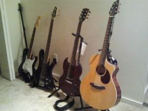 [Guitar family]
